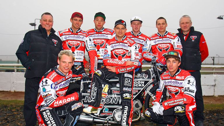 Swindon: Have finalised their team for 2014