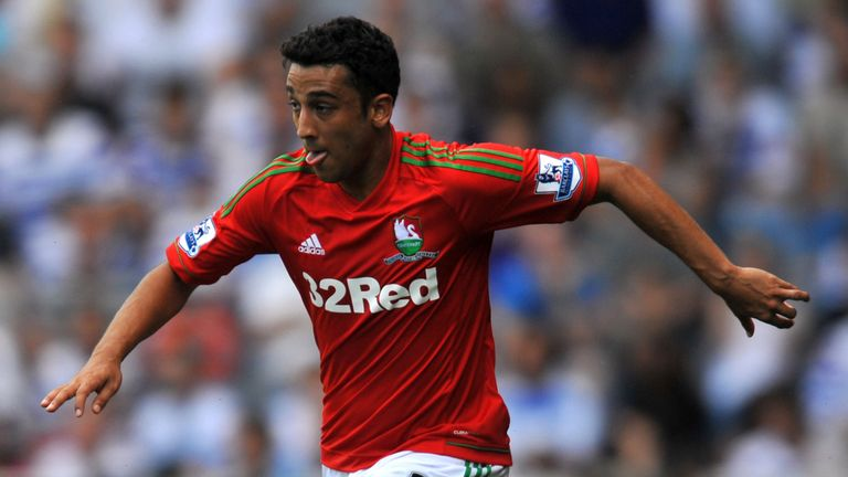 Neil Taylor: Close to making a first-team return for Swansea following injury in September