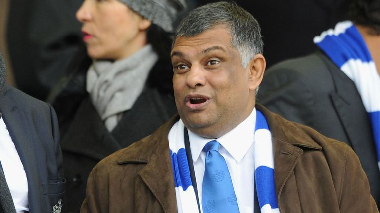 Tony Fernandes: No row with Harry Redknapp