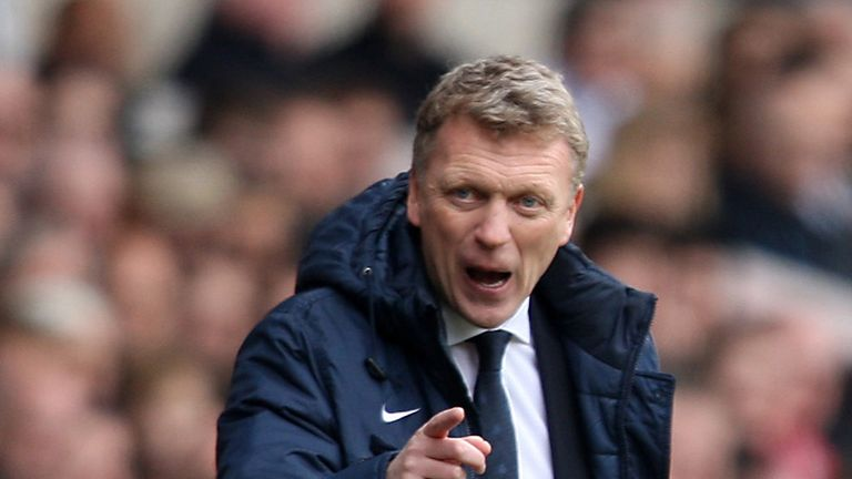 David Moyes: Believes that Everton were nothing more than competitive against Arsenal