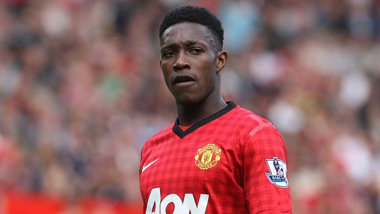 Danny Welbeck: Praised by the Manchester United manager despite an unimpressive goal tally