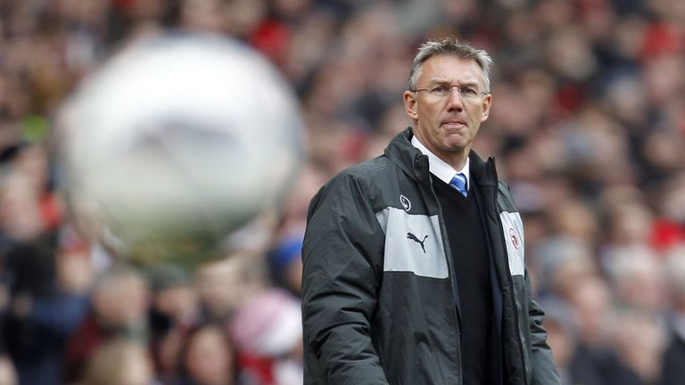 Nigel Adkins: Praised Reading reaction to being relegated
