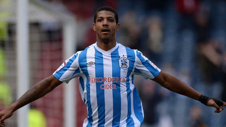 Jermaine Beckford: Striker praised by Huddersfield boss Mark Robins after double against Millwall