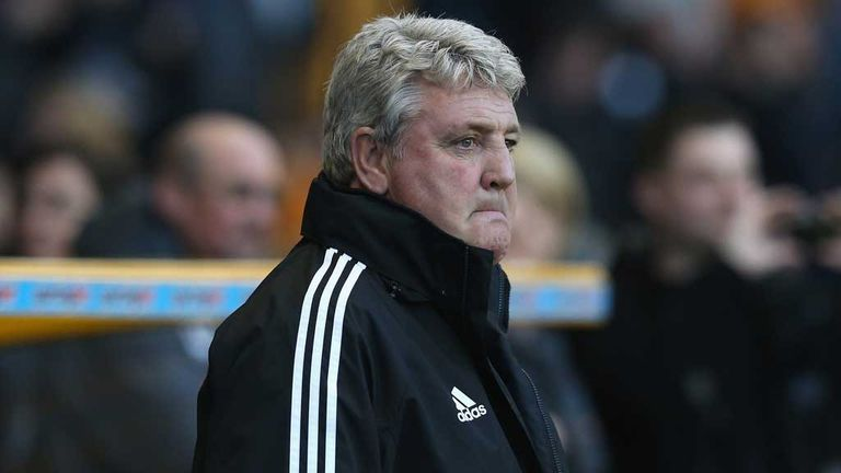 Steve Bruce: Hoping to sign two more players
