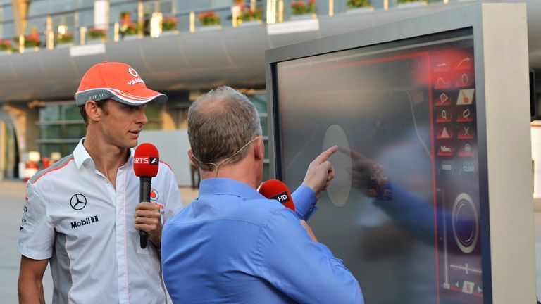 Jenson joined Johnny on the SkyPad earlier in the week