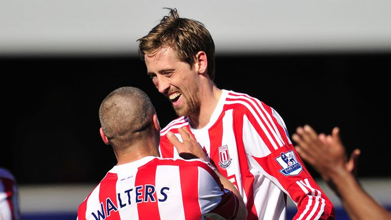 Peter Crouch: The well-travelled striker likes life under Mark Hughes but is pragmatic over his future with Stoke