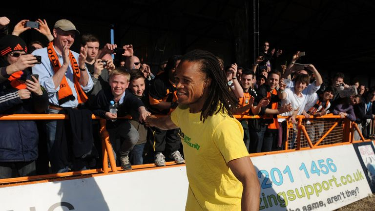 Tony Kleanthous: Edgar Davids gave Barnet a bigger profile