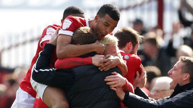 Barnsley celebrate vital win