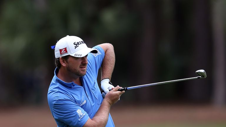 Graeme McDowell: Had started his final round four shots back of overnight leader Charley Hoffman