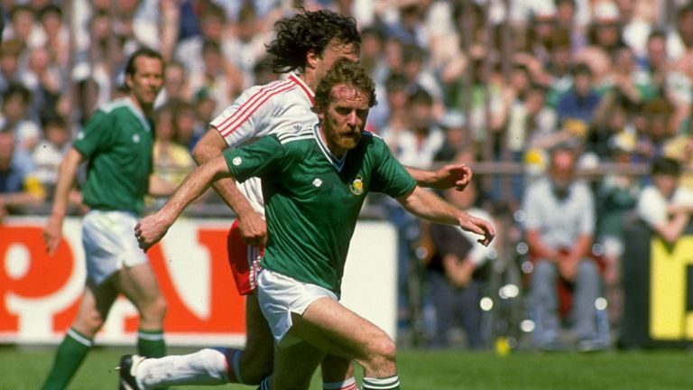 Tony Grealish: Capped 45 times by Republic of Ireland