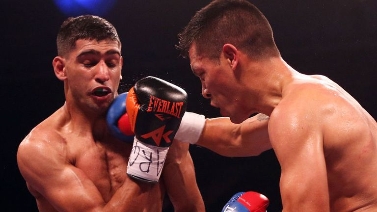Amir Khan: British fighter outpointed Julio Diaz in Sheffield