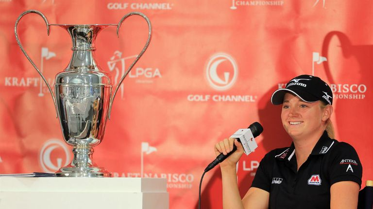 Stacy Lewis: Looking to claim her second Kraft Nabisco Championship win this week
