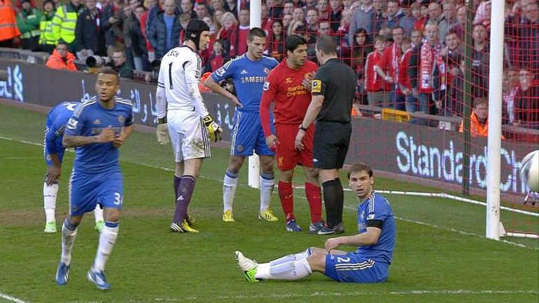 Luis Suarez has been banned for 10 games for a biting incident with Branislav Ivanovic