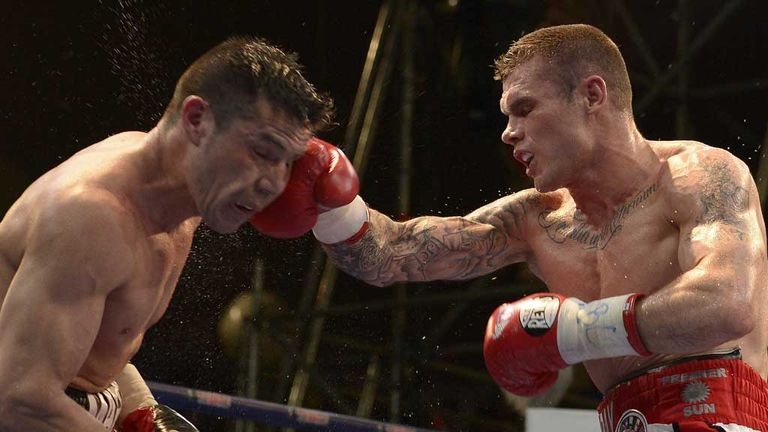 Martin Murray and Sergio Martinez in Buenos Aires