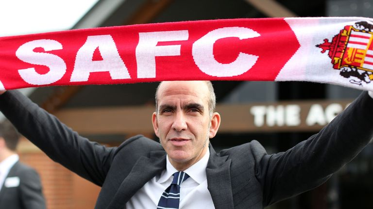 Paolo Di Canio: Takes charge of his first Sunderland game at Chelsea