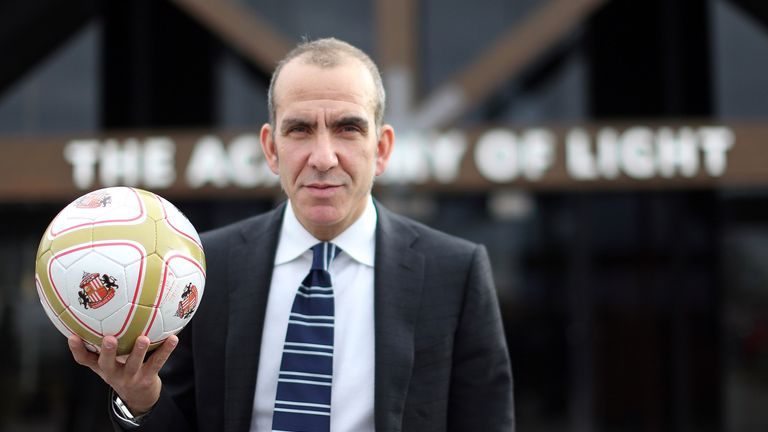 Paolo Di Canio: Took his first Sunderland training session on Monday