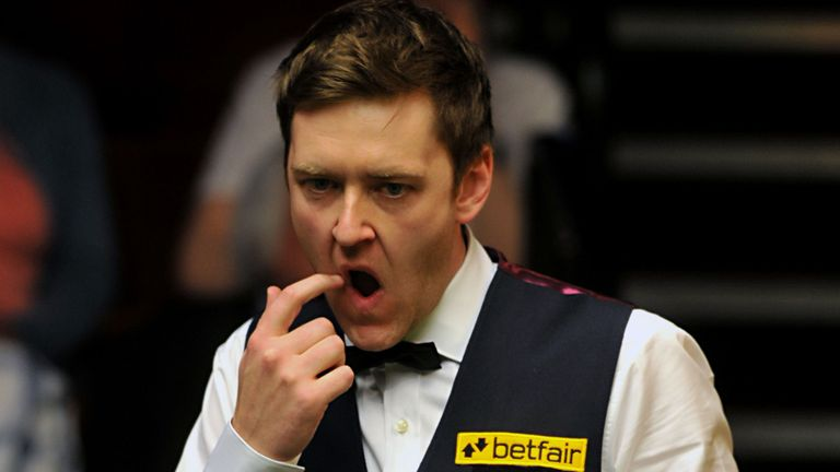 Ricky Walden races through Crucible opener