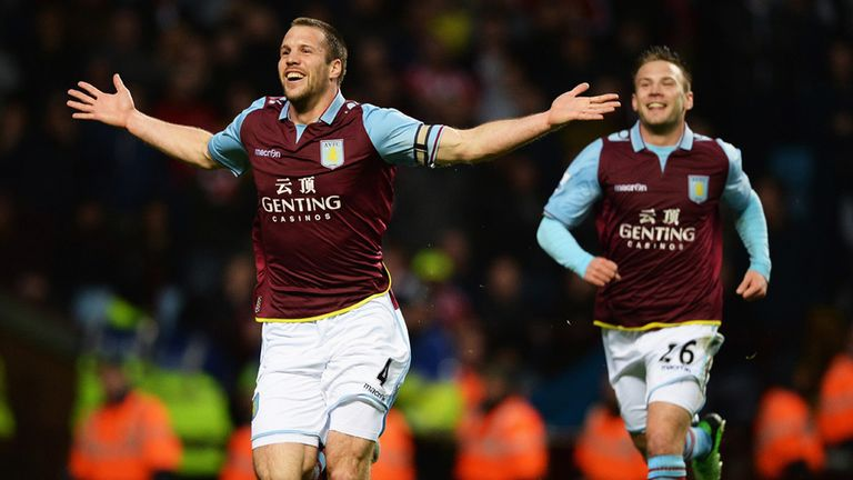 Ron Vlaar: Dutchman celebrates opening goal then warns against complacency