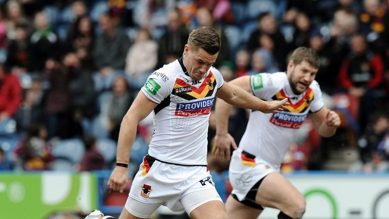 Jamie Foster: Has signed a new two-year contract with the Bradford Bulls