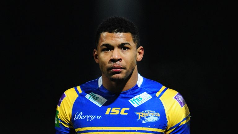 Watkins: scored a wonder try for Leeds