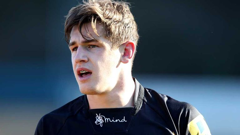 Sam Jones: Back-row prospect staying with Wasps