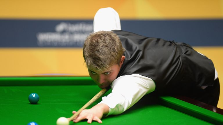 Michael White: Knocked out compatriot Mark Williams in the first round at the Crucible