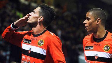 Jeremie Aliadiere: Content at Lorient