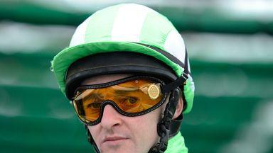 Jockey Graham Gibbons