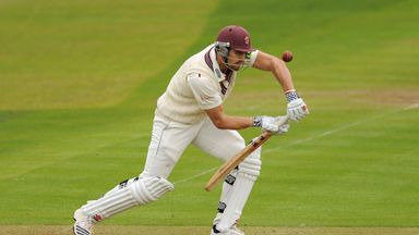 Nick Compton: Somerset opener struck his 19th first-class century
