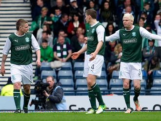 Hibernian: Will face Celtic in Scottish Cup final