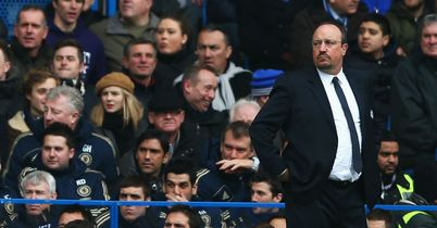 Rafa Benitez: Wants to help Chelsea finish in the top four