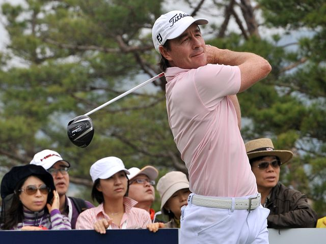 Brett Rumford: Made most of reprieve to claim title