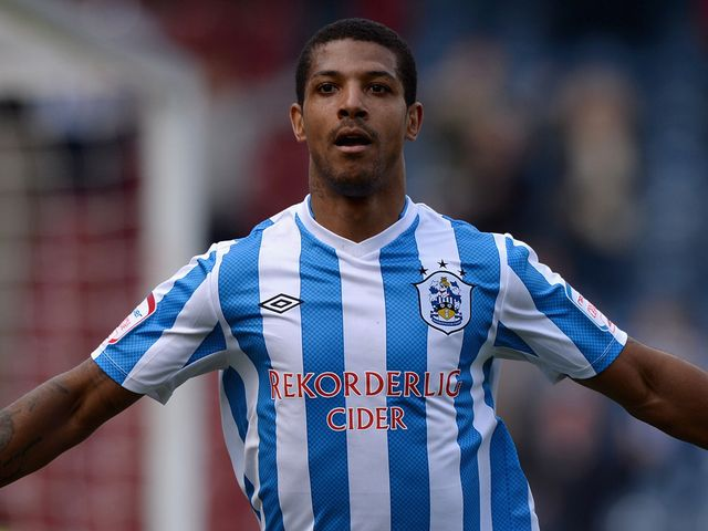 Jermaine Beckford bagged a brace for the Terriers