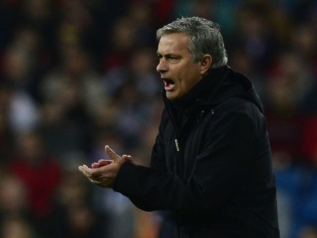 Jose Mourinho: Pleased with defensive display