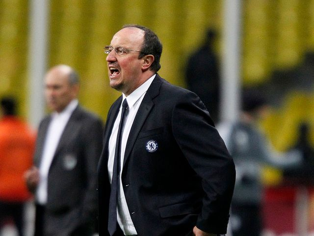 Benitez watched his side edge past Rubin Kazan
