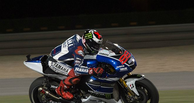 Jorge Lorenzo: Spaniard will start from the front in Qatar