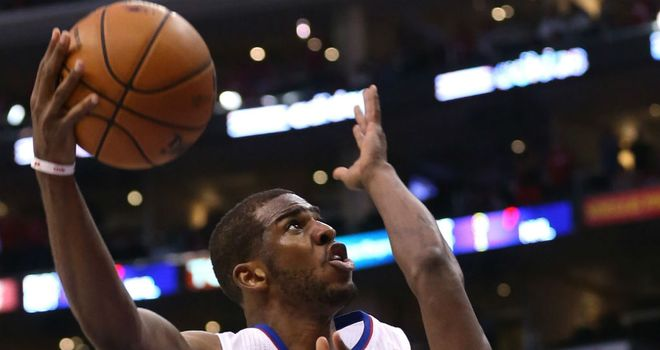 Chris Paul: Landed the winning basket with a second left