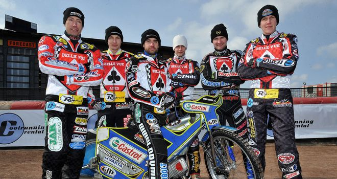 The Belle Vue Aces squad