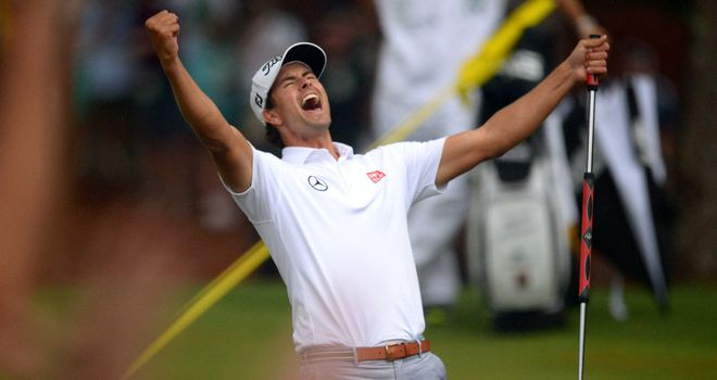 Masters champion Adam Scott is desperate for more Australian success
