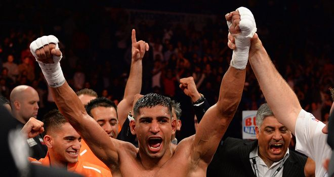 Amir Khan: Will not be fighting Adrien Broner any time soon