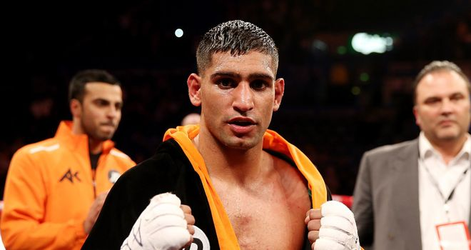Amir Khan: Urging Alexander to agree fight terms