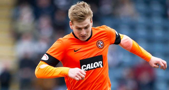 Stuart Armstong: Suspended for Dundee United's match with Aberdeen