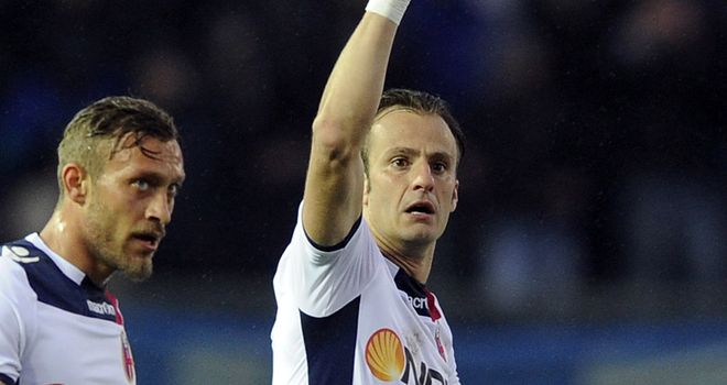 Alberto Gilardino equalised for Bologna