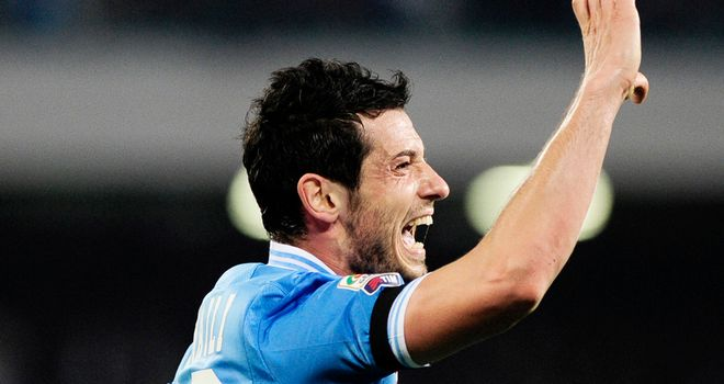 Blerim Dzemaili got one of Napoli's goals