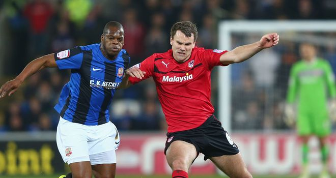 Harewood and Turner: Barnsley and Cardiff drew 1-1