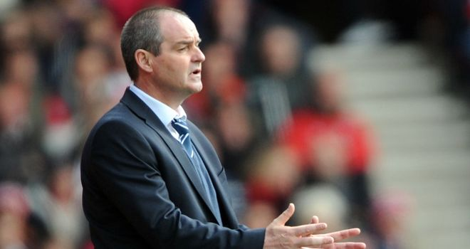 Steve Clarke: His side suffered a 1-0 friendly defeat by Genoa