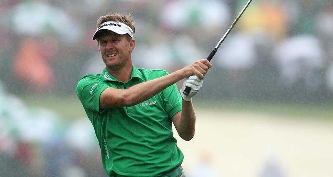 David Lynn: 15 pars in his second round at Augusta