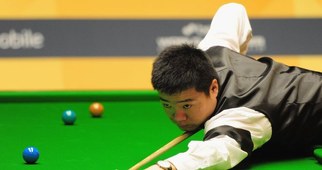 Ding Junhui: Awaits Robbie Williams in the last four