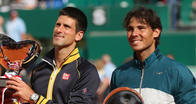 Rafael Nadal was forced to hand over the winner's trophy in Monte Carlo