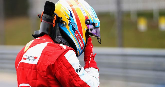 Fernando Alonso: Collided with Sebastian Vettel in Malaysia